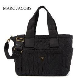 マークバイ マークジェイコブス マザーズバッグ マークジェイコブス キルティング ナイロン マザーズバッグ Marc Jacobs Nylon Knot Quilted Baby Bag Black