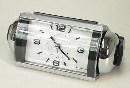 目覚し時計 SEIKO セイコークロック RAIDEN(ライデン)大音量目覚まし時計 クオーツ ベル音 (銀色メタリック塗装) NR442S【あす楽対応】