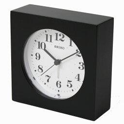 目覚し時計 セイコークロック 目覚まし時計 掛置兼用 ナチュラルスタイイル アラーム 木枠 ウォールナット黒木地塗装 KR501K【あす楽対応】掛け時計 置き時計