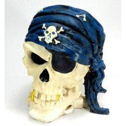 歯の灰皿 灰皿 海賊風 金歯 耳ピアス スカル ターバン