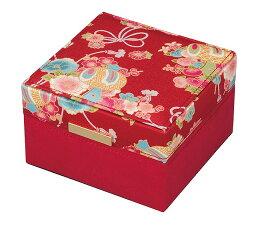 サンキョー オルゴール 布製ジュエリーボックスオルゴール(和柄)ホワイトAB401C サンキョー(日本)