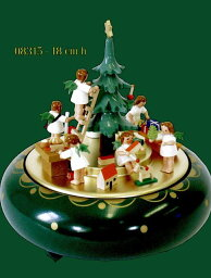 エルツ オルゴール ドイツ エルツ山地の手作り 木のオルゴール クリスマスイブ ドイツ製 08315 [送料無料]