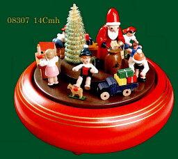 エルツ オルゴール ドイツ エルツ山地の手作り 木のオルゴール クリスマスプレゼント ドイツ製 08307 [送料無料]