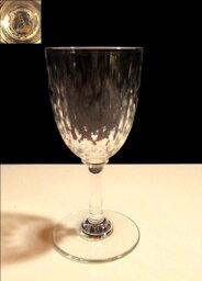 バカラ ワイングラス 【バカラ クリスタル】 木の葉状のリーフカットが素敵な小さめのワイングラス【Paris】