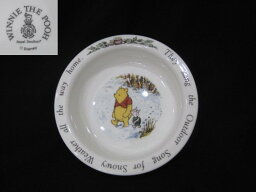 ロイヤル・ドルトン 【アンティーク】ロイヤルドルトン ポリッジ・ボウル【Winnie the Pooh】