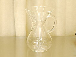 ケメックス 【送料無料】MoMAに永久展示品として飾られているケメックス(CHEMEX)Glasshandle(ガラスハンドル)コーヒーメーカー 6カップ用