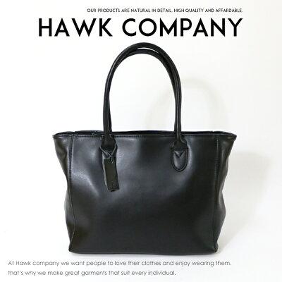 【Hawk Company ホークカンパニー】 バッグ bag トートバッグ レザー かばん 鞄 小物 グッズ メンズ men's レディース lady's プレゼント 彼氏 男性 4059