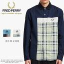 【FRED PERRY フレッドペリー】 長袖シャツ チェックシャツ メンズ men's 国内正規品 インポート ブランド 海外ブランド F4546