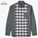 【FRED PERRY フレッドペリー】 長袖シャツ チェックシャツ メンズ men 国内正規品 インポート ブランド 海外ブランド M9510