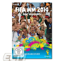 DVD(サッカー) FIFA ワールドカップ2014ブラジル大会 ドイツ代表ハイライトDVD【サッカー/ドルトムント/Worldcup/ドイツ代表/ラーム/ノイアー】お取り寄せ対応可能