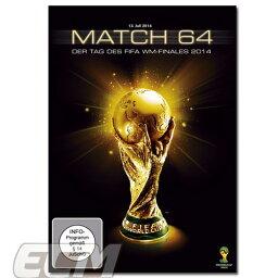 """DVD(サッカー) 【国内未発売】FIFAワールドカップ2014ブラジル大会 ドキュメンタリー DVD """"Match 64""""【サッカー/World cup/アルゼンチン代表/ドイツ代表】"""