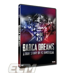 "DVD(サッカー) 【予約ECM14】FCバルセロナ DVD ""BARCA DREAMS"" (2016年発売)【FC Barcelona/メッシ/ネイマール/サッカー/リーガエスパニョーラ】"