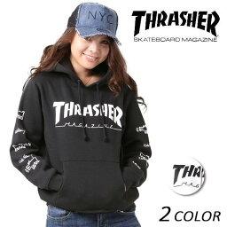 スラッシャー 送料無料レディース パーカー THRASHER スラッシャー THKH-HD15L FF K6