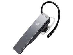 バッファロー BUFFALO/バッファロー Bluetooth4.1対応 2マイクヘッドセット NFC対応 シルバー BSHSBE500SV