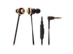 オーディオテクニカ audio-technica/オーディオテクニカ スマートフォン用インナーイヤーヘッドホン ブラウン ATH-CKF77iS BW