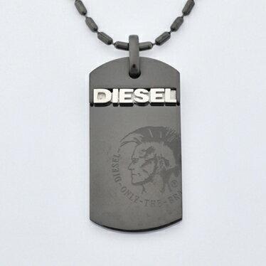 【送料無料】DIESEL ディーゼル ネックレス DX0004040 ペンダント アクセサリー 【あす楽対応】【RCP】【プレゼント】【ブランド】【セール】