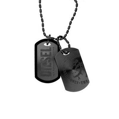 【送料無料】DIESEL ディーゼル ネックレス ドッグタグ DX0014040 ペンダント アクセサリー 【あす楽対応】【RCP】【プレゼント】【ブランド】【ラッキーシール対応】【セール】