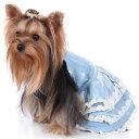 ワンピース イギリスのブランド ISPET 犬&猫 デニム風ワンピス 格安 ワンピス ISS2123