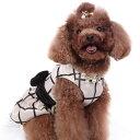 ワンピース イギリスのブランド ISPET 犬&猫 リボン付きワンピス 格安ドレス