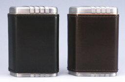 コードバン 携帯灰皿 携帯灰皿 ハニカム アルミダイカスト コードバン 馬革巻
