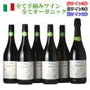 ワイン飲み比べセット ヴィヌーヴァ 赤 白 泡 ワイン 6本セット オーガニックワイン 福袋 イタリア 飲み比べ 手摘み ワイン オーガニック 送料無料 ソムリエ c