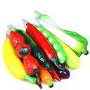 ベジーペン DCMR 文具 【お楽しみ 5本 セット】 リアル 3D 野菜 果物 ベジタブル トイ ボールペン ポップ キュート 磁石付 冷蔵庫 に 貼って 便利