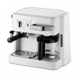 ★数量限定★営業日15時迄の注文で即日出荷★デロンギ BCO410J-W コンビコーヒーメーカー ホワイト 本格的な贅沢3メニューを、たった1台で同時に愉しめます 父の日