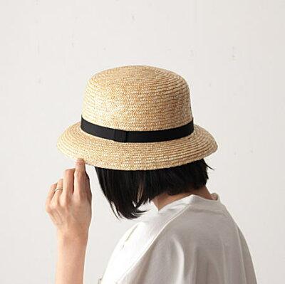 """CLASKA Gallery&Shop """"DO""""(クラスカ ギャラリー&ショップ ドー) 麦わら帽子 ブリム"""