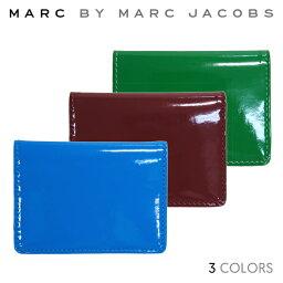 マークバイマークジェイコブス 【クーポン利用で最大1,000円OFF】 【正規品】MARC BY MARC JACOBS マーク バイ マークジェイコブス Patent Pending Wallet カードケース パスケース【単品購入の場合はネコポス便発送】