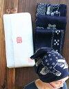 バンダナ 【受注生産:5〜6日後の発送】 琉球藍染めハンカチ(全12柄)