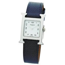 エルメス Hウォッチ 腕時計(レディース) エルメス HERMES 時計 ウォッチ レディース HウォッチPM Heure H PM HH1 220 136 UU7L 044899WW00 ホワイト文字盤
