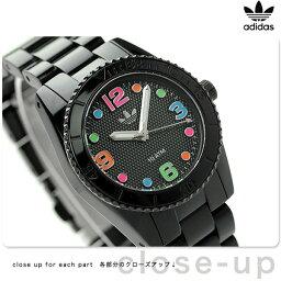 アディダス 腕時計(レディース) アディダス ブリスベン ナイロン ミニ レディース 腕時計 ADH2943 adidas クオーツ オールブラック【あす楽対応】