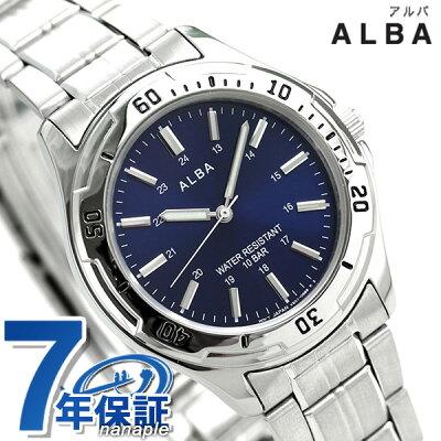 セイコー アルバ スポーツ クオーツ メンズ 腕時計 AQPS002 SEIKO ALBA ネイビー 時計