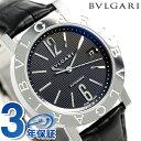 ブルガリブルガリ ブルガリ 時計 メンズ BVLGARI ブルガリ38mm 自動巻き BB38BSLDAUTO 腕時計 ブラック【あす楽対応】
