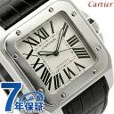 カルティエ サントス 腕時計(メンズ) 【ノベルティ プレゼント♪】カルティエ Cartier カルティエ サントス100 W20073X8 メンズ