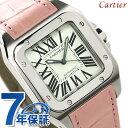 カルティエ サントス 腕時計(メンズ) 【ノベルティ プレゼント♪】カルティエ Cartier カルティエ サントス ドゥ カルティエ W20126X8 ボーイズサイズ