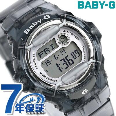Baby-G レディース カシオ 腕時計 ベビーG REEF スケルトングレー BG-169R-8DR 時計【あす楽対応】