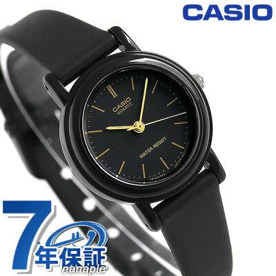 カシオ 腕時計 チープカシオ レディース LQ-139AMV-1ELDF CASIO オールブラック チプカシ 時計