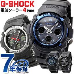 カシオ G-SHOCK 腕時計(メンズ) G-SHOCK 電波 ソーラー 電波時計 AWG-M100 アナデジ 腕時計 カシオ Gショック ブラック【あす楽対応】