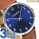コーチ 腕時計(メンズ) コーチ スリム イーストン 40mm クオーツ メンズ 腕時計 14602127 COACH ブルー【あす楽対応】