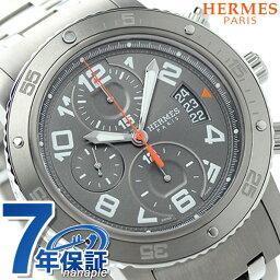 エルメス クリッパー 腕時計(メンズ) 【今ならショッパー プレゼント♪】CP2.941.230/4963 HERMES エルメス クリッパー クロノグラフ 自動巻き メンズ 腕時計 新品【あす楽対応】