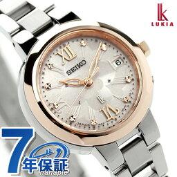 セイコー ルキア 腕時計(レディース) セイコー ルキア ソーラー電波時計 レディース フラワーパーティ SSVW068 SEIKO LUKIA 綾瀬はるか 腕時計