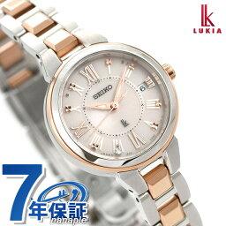 ed1a2a533501 セイコー ルキア 腕時計(レディース) セイコー ルキア 電波ソーラー レディダイヤ SSVW146 SEIKO LUKIA 綾瀬