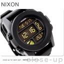 ニクソン 腕時計(メンズ) ニクソン A197000 nixon ニクソン 腕時計 UNIT ユニット ブラック 【あす楽対応】