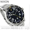 ニクソン 腕時計(メンズ) ニクソン A277000 nixon ニクソン ディプロマット SS 腕時計 デイト ブラック