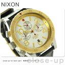 ニクソン 腕時計(メンズ) ニクソン A3631884 nixon ニクソン 48-20 メンズ 腕時計 シルバー/ゴールド/ブラック【あす楽対応】