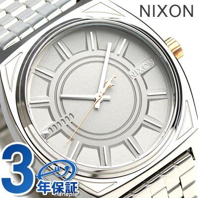 【25日なら全品5倍以上!店内ポイント最大45倍】 ニクソン 腕時計 nixon タイムテラー スターウォーズ ファズマ A045SW2445 シルバー 時計【あす楽対応】