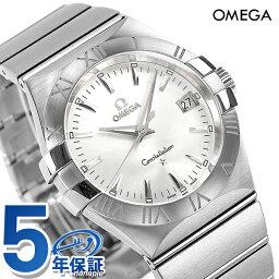オメガ コンステレーション 腕時計(メンズ) オメガ OMEGA メンズ 腕時計 コンステレーション ローマ数字 シルバー 123.10.35.60.02.001 新品【あす楽対応】