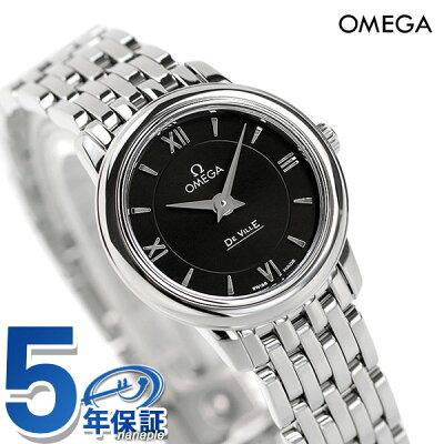 オメガ デビル プレステージ クオーツ 24.4mm レディース 424.10.24.60.01.001 OMEGA 腕時計 新品 時計【あす楽対応】