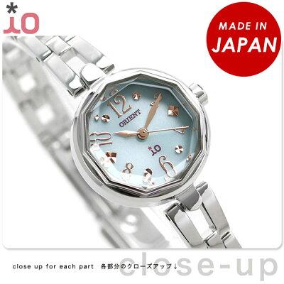 【店内ポイント最大43倍 26日1時59分まで】 オリエント 腕時計 レディース ORIENT イオ スイートジュエリー2 iO WI0181WD ソーラー 時計